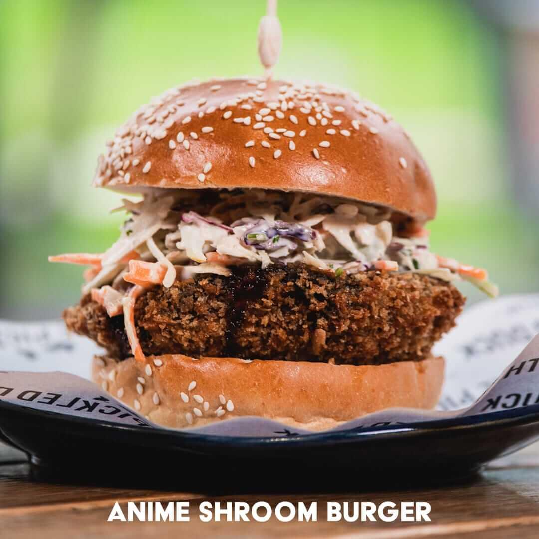 Anime Schroom Burger